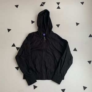 Joy Lab Windbreaker Jacket XS Black